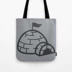 gray igloo Tote Bag