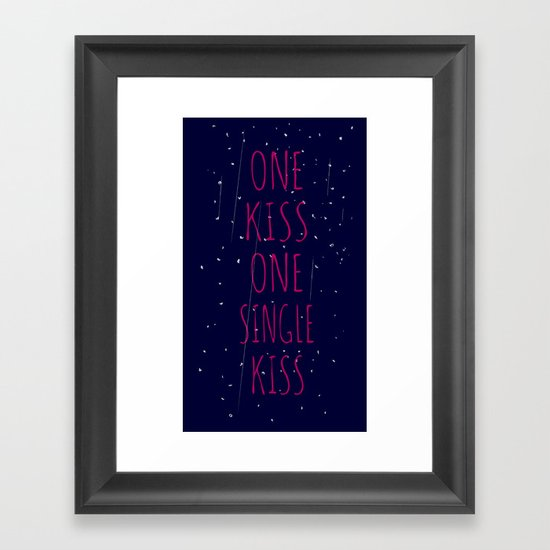 made the universe Framed Art Print