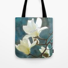 White Magnolia's One Tote Bag