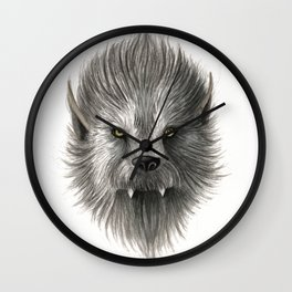 Werewolf beast Wall Clock
