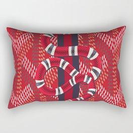 GoyardGucciSnake Rectangular Pillow