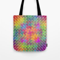 hippy Tote Bags featuring Hippy by HK Chik
