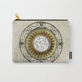 Steampunk D20 Vintage Carry-All Pouch