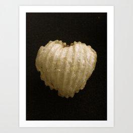 Crispy Love Art Print