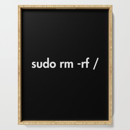 sudo rm -rf Serving Tray
