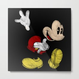 DISNEY MICKEY MOUSE: DARK MICKEY Metal Print