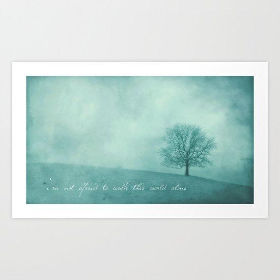 Wintertree Art Print
