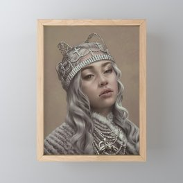 You should see me in a crown Framed Mini Art Print