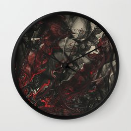 The Dance of Detached Humanism  Wall Clock