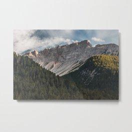 Mountain's Landscape Metal Print