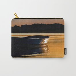 Rowing boat at sunset. Carry-All Pouch
