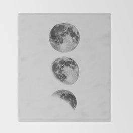 Moon Phase Wall Art Moon Home Decor Moon Phases Nursery Decor Poster Minimalist Print Gothic Boho Throw Blanket
