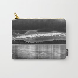 """Sunset After The Storm""  BW Carry-All Pouch"