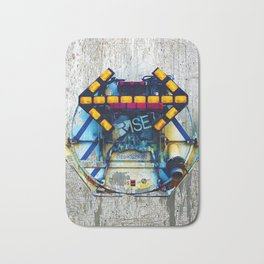 Rise The Obstacle Is The Road Bath Mat