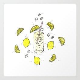 Lemon Lemon Lemon Art Print