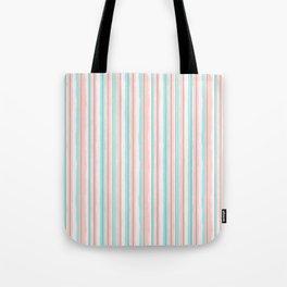 Candy Jiggle Stripes Tote Bag