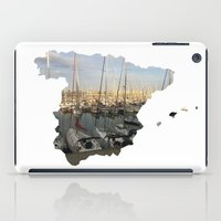 spain iPad Cases featuring Spain by Isabel Moreno-Garcia