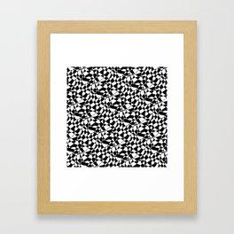 Skank Black Framed Art Print