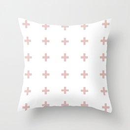 +++ (Pink) Throw Pillow