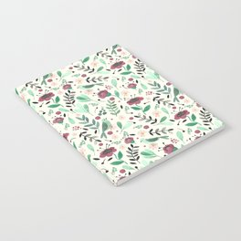 Green bird Notebook