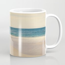 Vintage Beach Photographic Pattern #1 Coffee Mug