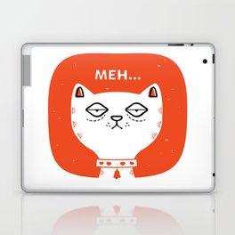 Meh Cat by Steve Mack Laptop & iPad Skin