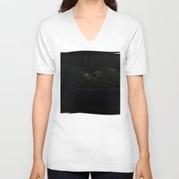hannibal V-neck T-shirts featuring Hannibal by Valachhim