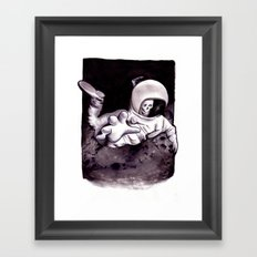 Bastard Sons In Space Framed Art Print