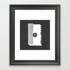 øk Framed Art Print