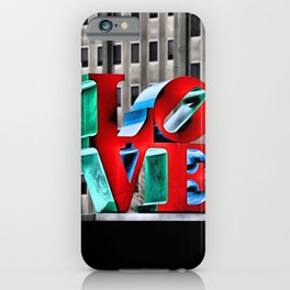 Love from Philly iPhone Case