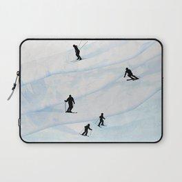 Skiing Hills Laptop Sleeve