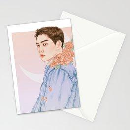 evening sky [d.o. kyungsoo exo] Stationery Cards