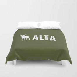 Deer: Alta, Utah Duvet Cover
