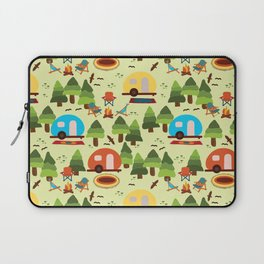 Caravan Campground Vacation Laptop Sleeve