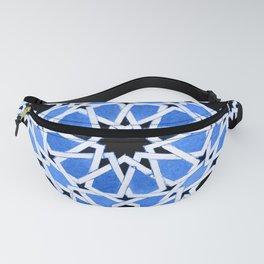 Moroccan Zellige pattern Fanny Pack