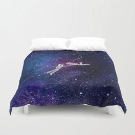 Galaxy Love Duvet Cover