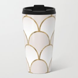 Golden Chinese Pattern Travel Mug