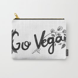 Go Vegan Carry-All Pouch