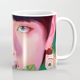 V Singularity Portrait Coffee Mug
