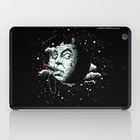 dark side iPad Cases featuring The Dark Side by victor calahan