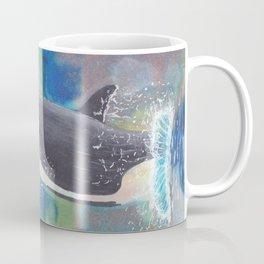 Breaching Orca Coffee Mug
