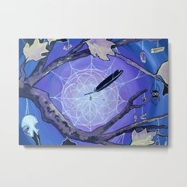 The Spider's Alter Metal Print