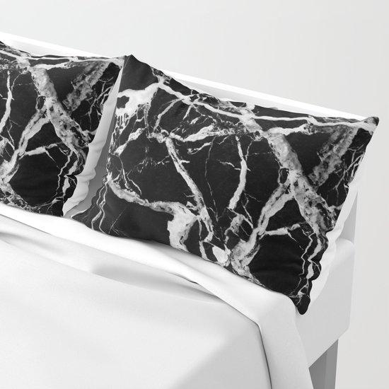Black marble pattern by patternmaker