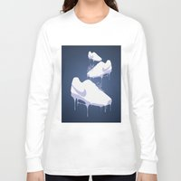 nike Long Sleeve T-shirts featuring Nike Drips by Patrick Cazer