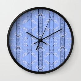 Shade of  Blues By Danae Anastasiou Wall Clock