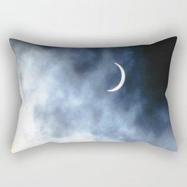 Eclipsed Rectangular Pillow