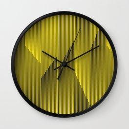 Cinetic Art Wall Clock