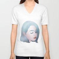 bubblegum V-neck T-shirts featuring bubblegum by otakuspirit