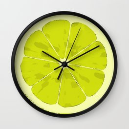 Lime Wall Clock