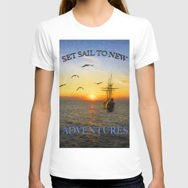 New adventures painting - by Brian Vegas T-shirt